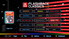 Atari Classics Vol 2 screen shot 8