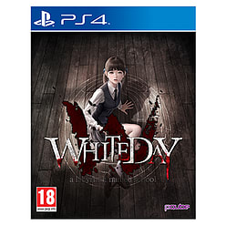 White Day: A Labyrinth Named School PS4 Cover Art