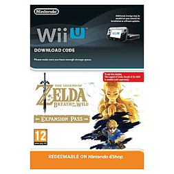 The Legend of Zelda Breath of the Wild Expansion Pass- Wii U Wii U Cover Art