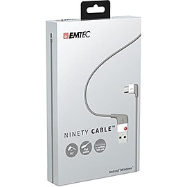 Emtec U100 Ninety USB to Micro USB Cable Multi Format and Universal