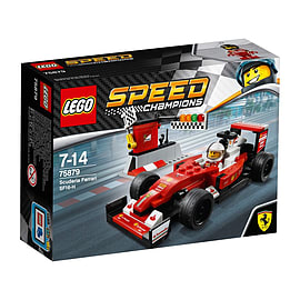 Lego Speed Champions - Scuderia Ferrari SF16-H Blocks and Bricks