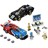 Lego Speed Champions - 2016 Ford GT & 1966 Ford GT40 screen shot 1
