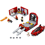 Lego Speed Champions - Ferrari FXX K & Development Center screen shot 1