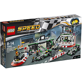 Lego Speed Champions - Mercedes AMG Petronas Formula One Team Blocks and Bricks
