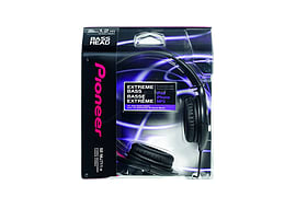 PIONEER SE-MJ711 HEADPHONES - BLACK Audio