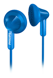 Philips SHE3010BL Extra Bass In-Ear Wired Headphones - Blue Multi Format and Universal