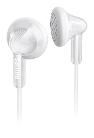 Philips SHE3010WT Extra Bass In-Ear Wired Headphones - White Multi Format and Universal