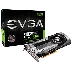 EVGA GeForce GTX 1080Ti 11GB Founders Edition Graphics Card PC