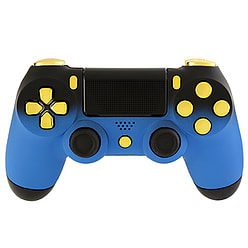 Playstation 4 Controller - Blue Shadow & Gold Edition PS4