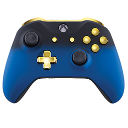 Xbox One Controller - Blue Shadow & Gold Edition XBOX ONE