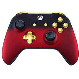 Xbox One Controller - Red Shadow & Gold Edition XBOX ONE