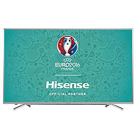 Hisense H65M7000 65-Inch 4K Smart HDR HD ULED TV with Freeview - Silver TV and Home Cinema
