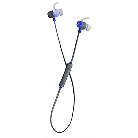 KitSound Outrun Bluetooth Wireless Sports In-Ear Headphone with In-Line Microphone Compatible with Audio