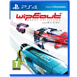 WipEout Omega Collection PS4 Cover Art