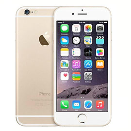 Apple iPhone 6 64GB Gold (B Grade, Good Condition) Unlocked Phones