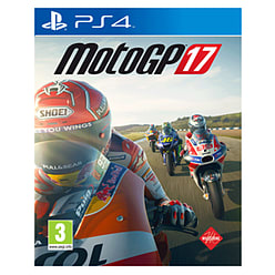 MotoGP 17 PS4 Cover Art