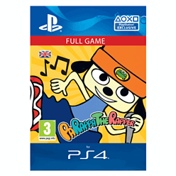 PaRappa the Rapper Remastered PS4 Cover Art