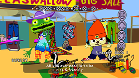 PaRappa the Rapper Remastered screen shot 1