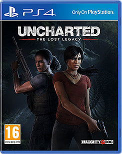 Uncharted: The Lost Legacy PS4 Cover Art