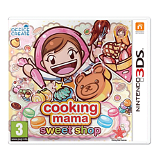 Cooking Mama: Sweet Shop 3DS Cover Art