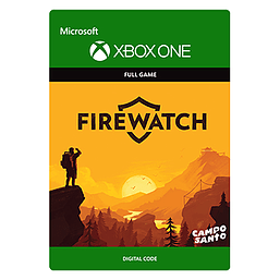 Firewatch XBOX ONE Cover Art