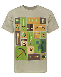 Minecraft Explorer Boy's T-Shirt (9-10 Years) Clothing