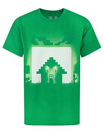 Minecraft Survival Boy's T-Shirt (7-8 Years) Clothing