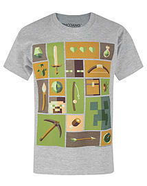 Minecraft Explorer Boy's T-Shirt (3-4 Years) Clothing