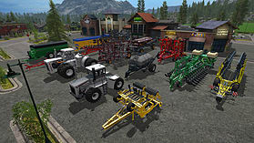 Farming Simulator 17 Official Expansion Big Bud screen shot 2