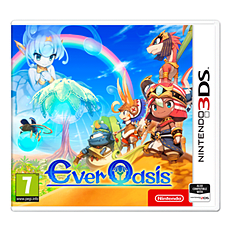 Ever Oasis 3DS Cover Art