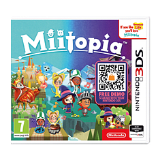Miitopia 3DS Cover Art