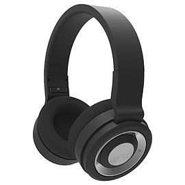 Silver Label Bluetooth Headphones - Black Audio