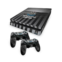 Official Newcastle United FC PS4 Slim Console Skin and 2x Controller Skin Combo Pack PS4
