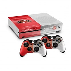 Official Sunderland FC Xbox One S Console Skin and 2x Controller Skin Combo Pack PS4