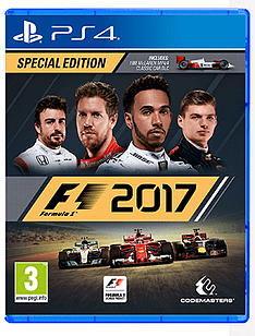 F1 2017 Special Edition PS4 Cover Art