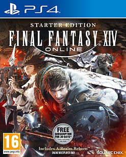 Final Fantasy XIV Online Starter Edition PS4 Cover Art