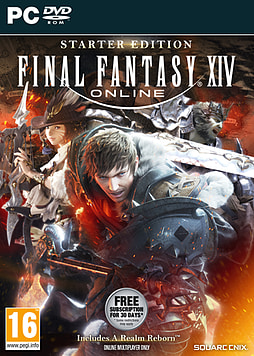 Final Fantasy XIV Online Starter Edition PC Cover Art