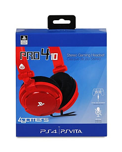 PRO4-10 Stereo Gaming Headset (Red) - PS4/PS Vita PS4