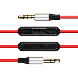 Beats 1.2m Replacement Audio Cable for Beats Solo HD & Studio 2.0 Audio