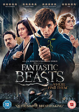Fantastic Beasts and Where To Find Them (2017) DVD + Digital Download DVD