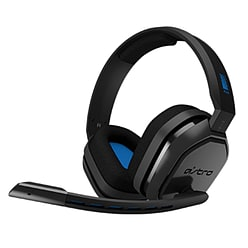 Astro A10 Gaming Headset - Grey/Blue PS4