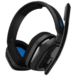 Astro A10 Gaming Headset - Grey/Blue screen shot 1