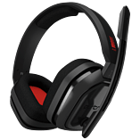 Astro A10 Gaming Headset - Grey/Red screen shot 1