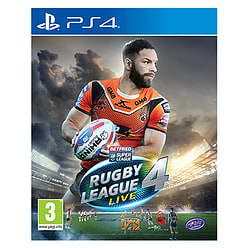 Rugby League Live 4 PS4 Cover Art