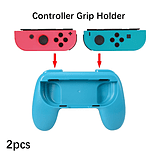2 x Red and Blue Controller Grip Handles for Nintendo Switch Joy-Con screen shot 1