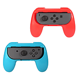 2 x Red and Blue Controller Grip Handles for Nintendo Switch Joy-Con screen shot 2
