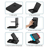 Nintendo Switch Adjustable Playstand Portable Play Stand Bracket screen shot 1