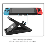 Nintendo Switch Adjustable Playstand Portable Play Stand Bracket screen shot 2