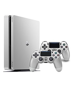 Playstation 4 500GB Limited Edition Console - Silver PS4