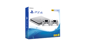 Playstation 4 500GB Limited Edition Console - Silver screen shot 1